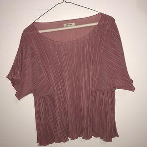 Texture & Thread Flutter-Sleeve Top   Madewell